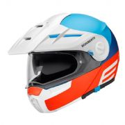 Schuberth E1 Adventure Cut Red/Blue